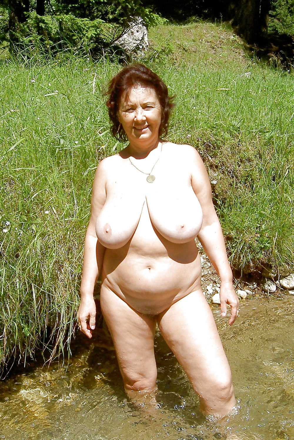 Beach big mature naturals