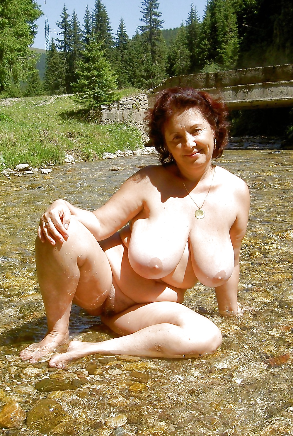 Big beautiful mature