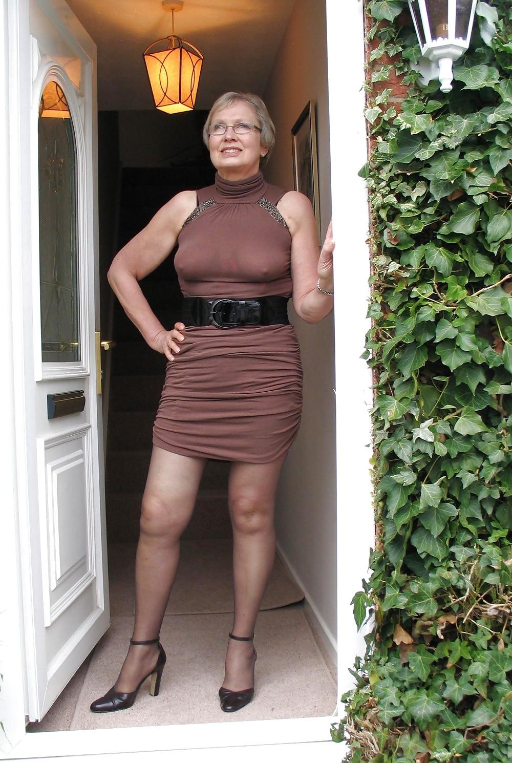 Mature women in dresses galleries